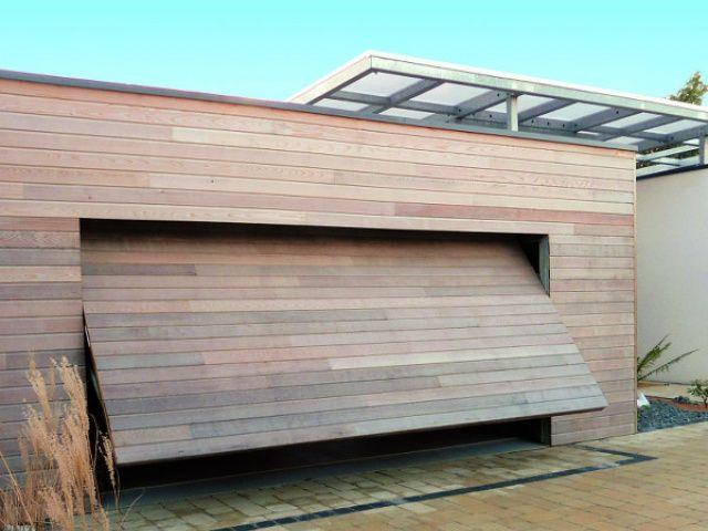 best 25 porte garage bois ideas on pinterest porte. Black Bedroom Furniture Sets. Home Design Ideas