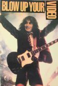 AC/DC - 'Blow Up Your Video' Postcard