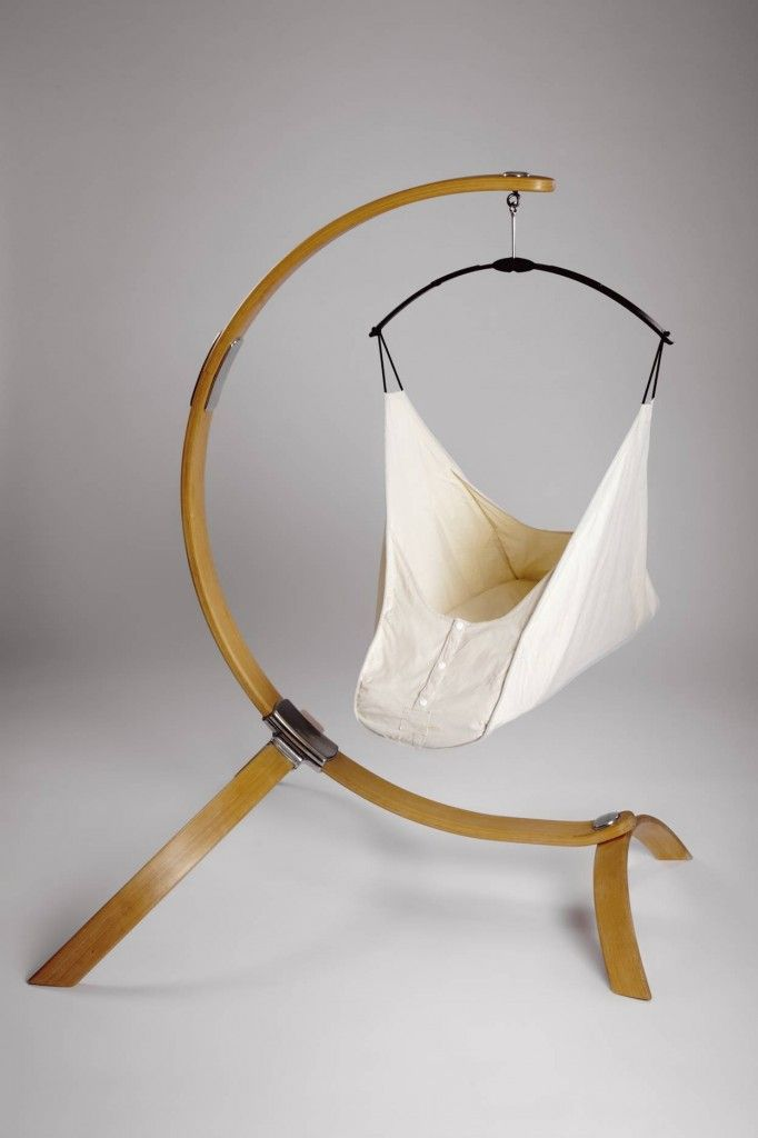 Baby Hammock. According to some, a hanging crib makes the transition from womb to world a little easier for your baby. Suspended from the ceiling, the crib is gently sent into a rocking motion whenever the baby wiggles. This slight rocking movement calms baby and puts him back in dreamland.