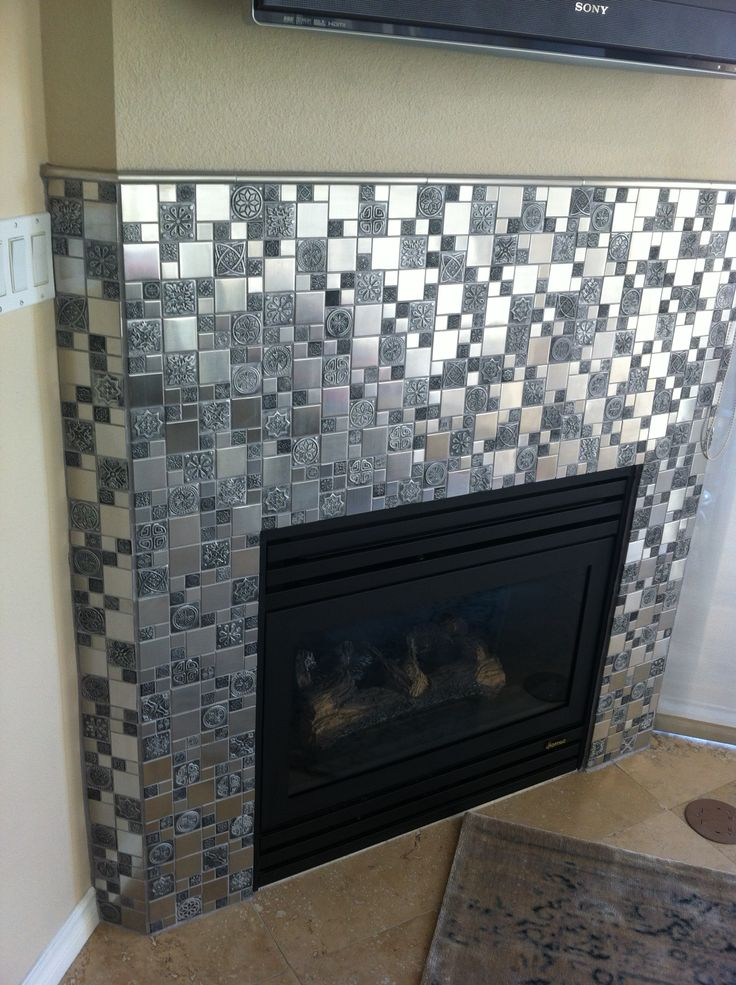 431 Best Mosaic Fireplace Images On Pinterest Mantles