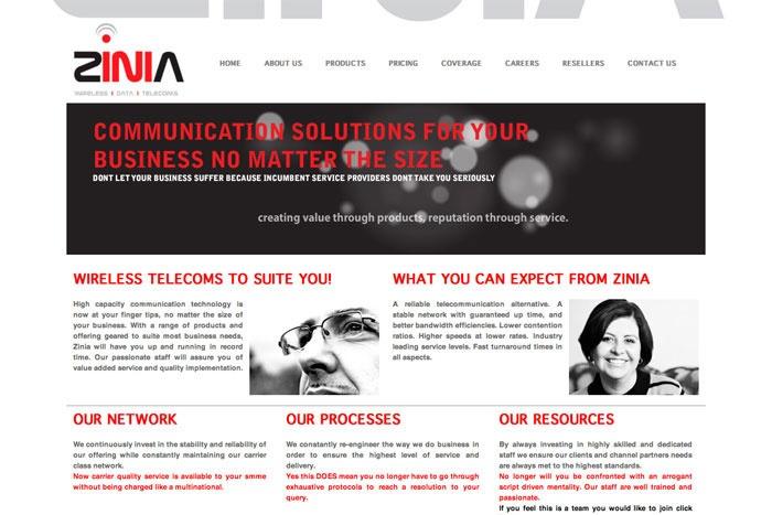 Zinia Website http://www.soopa.co.za
