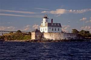 New England Lighthouses - Rose Island Lighthouse