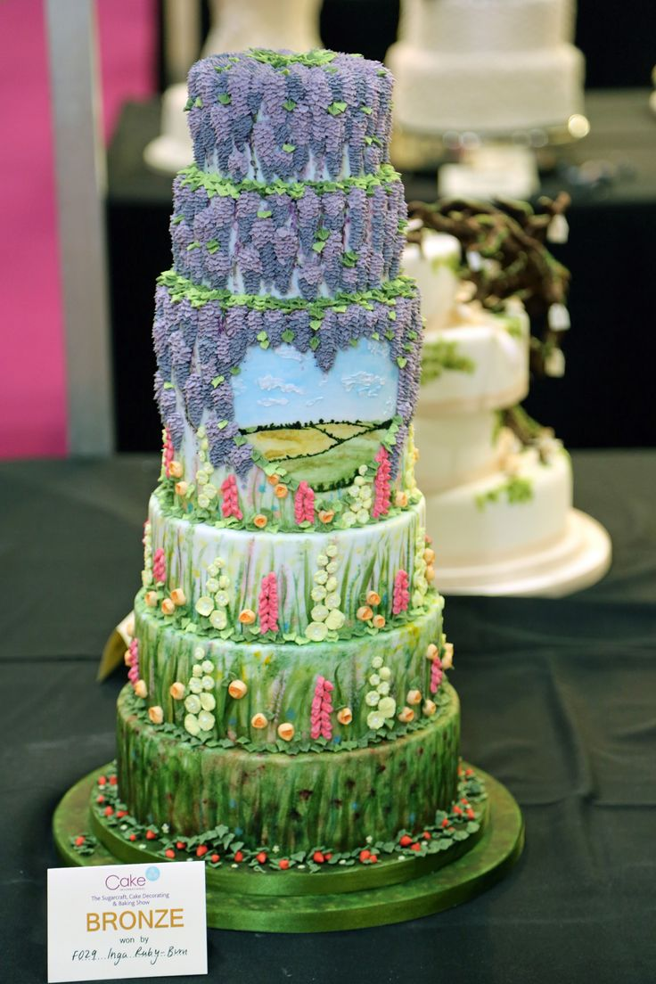 My Cake International London 2014 Competition Entry