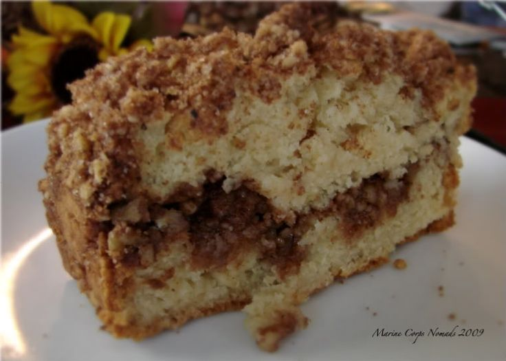 Gluten Free Coffee Cake « Marine Corps Nomads There is also a recipe for THE ULTIMATE YELLOW CAKE MIX !