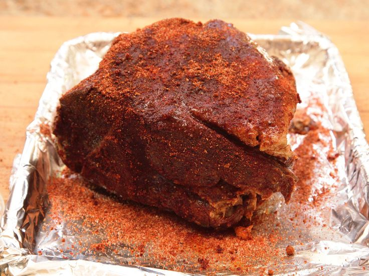 Sous Vide BBQ Pork Shoulder