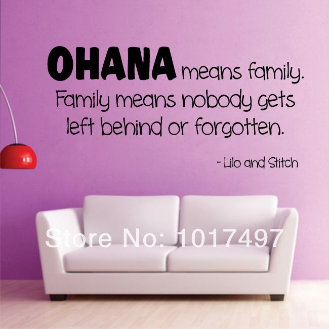 Free Shipping Family Is Vinyl Wall Lettering Quote Wall: Best 25+ Lilo And Stitch Quotes Ideas On Pinterest