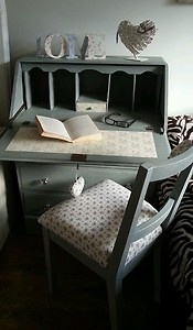 Shabby chic writing bureau