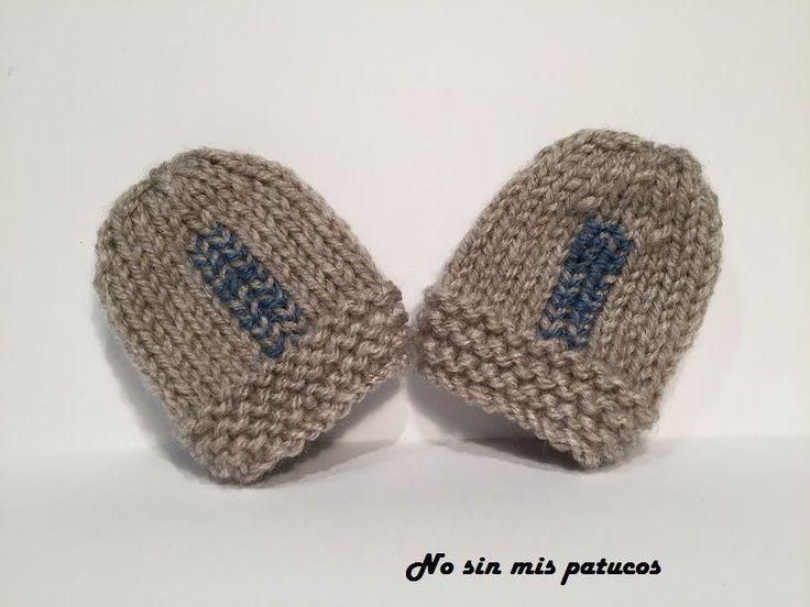 Mejores 11 imágenes de manoplas en Pinterest | Punto bebé, Tejer con ...