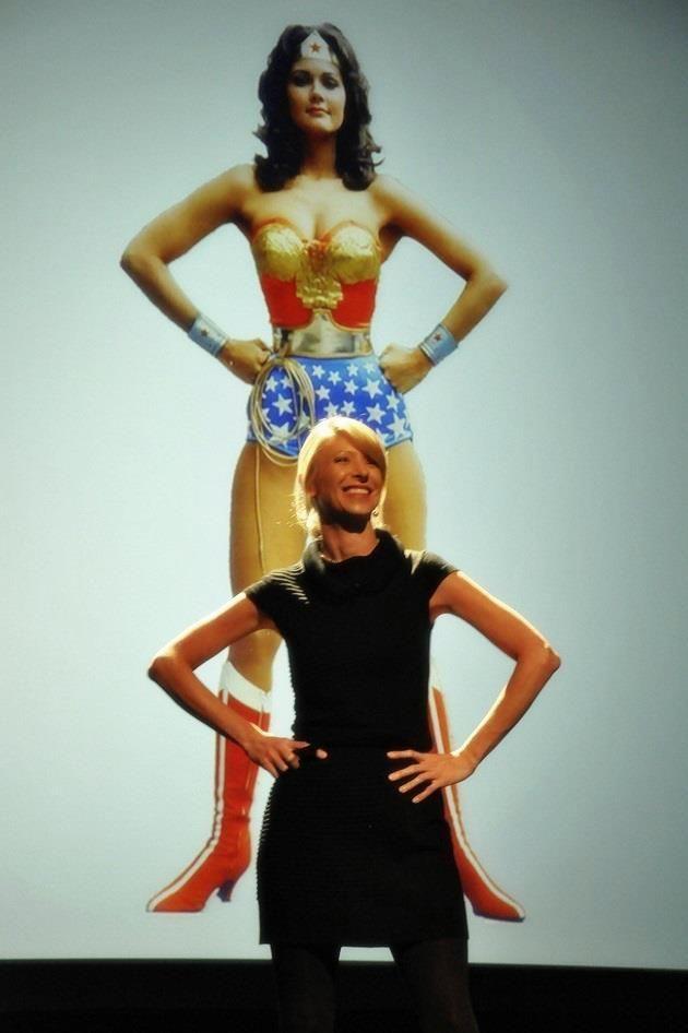 Power Pose Wonder Woman and Ann Cuddy