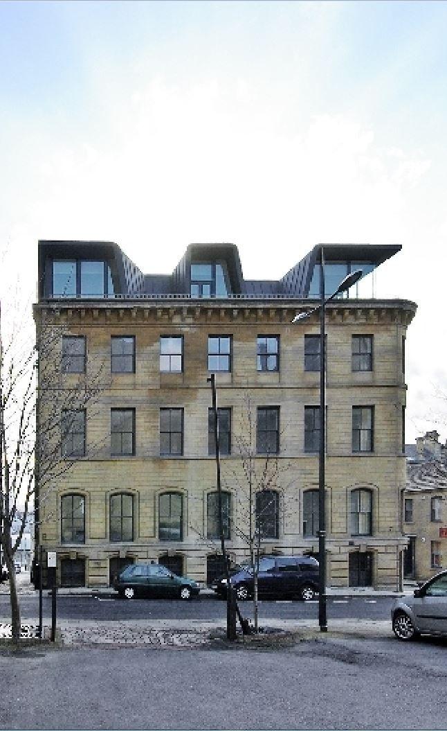 Apartment building, Hanover House, Bradford (UK) by Kraus - Schönberg…