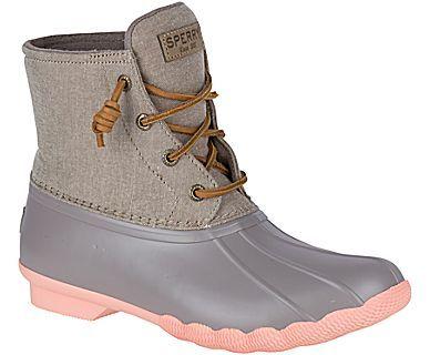Women's Saltwater Pop Outsole Duck Boot - Saltwater Duck Boots | Sperry