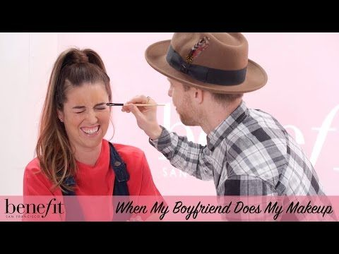 Benefit Cosmetics UK & Ireland - YouTube My boyfriend does my makeup xx