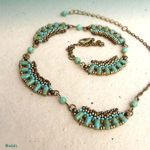 Lodí po Nilu - náhrdelník