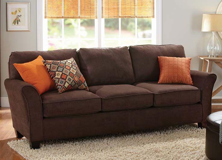 Sofa Sleeper Better Homes and Gardens Cushion Sofa in Brown