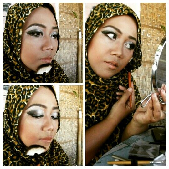 Arabesque Sahara theme makeup
