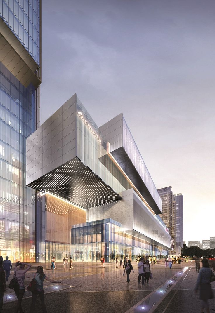 Renhe Spring Mixed-use Development begins construction | Aedas | Archinect