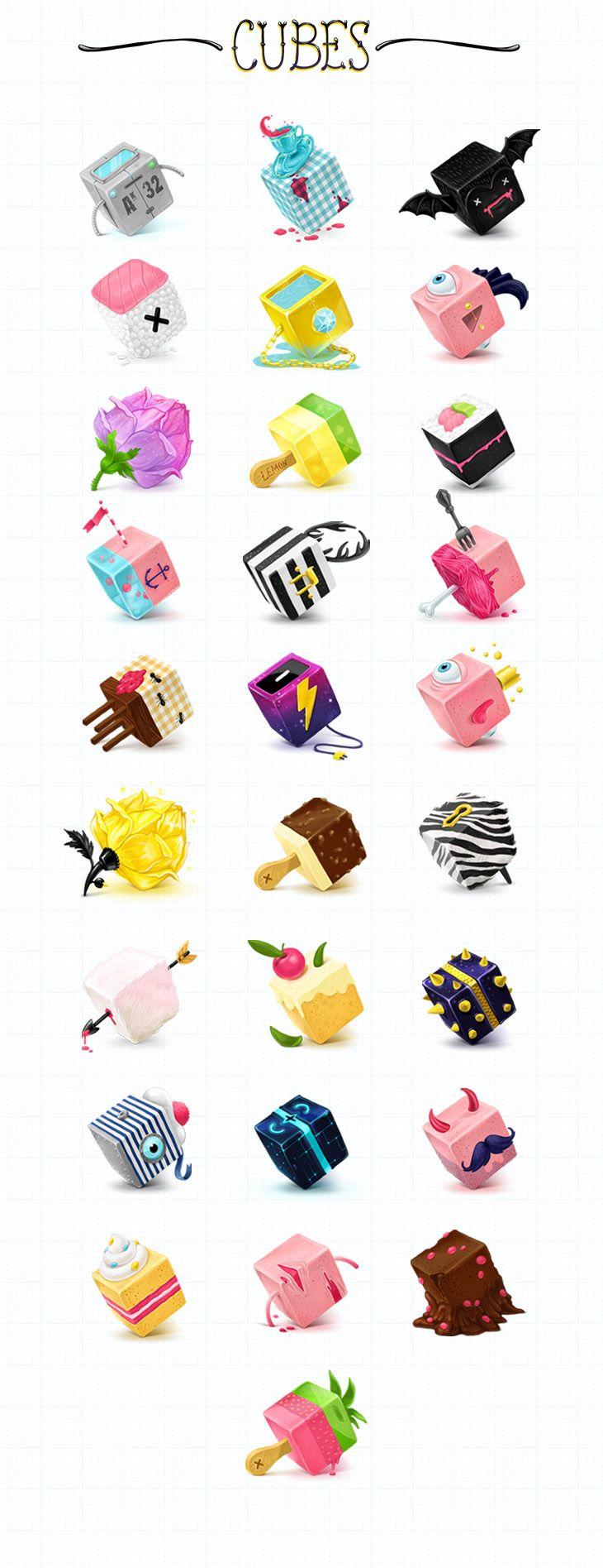 Kluke Art icon sets and additional