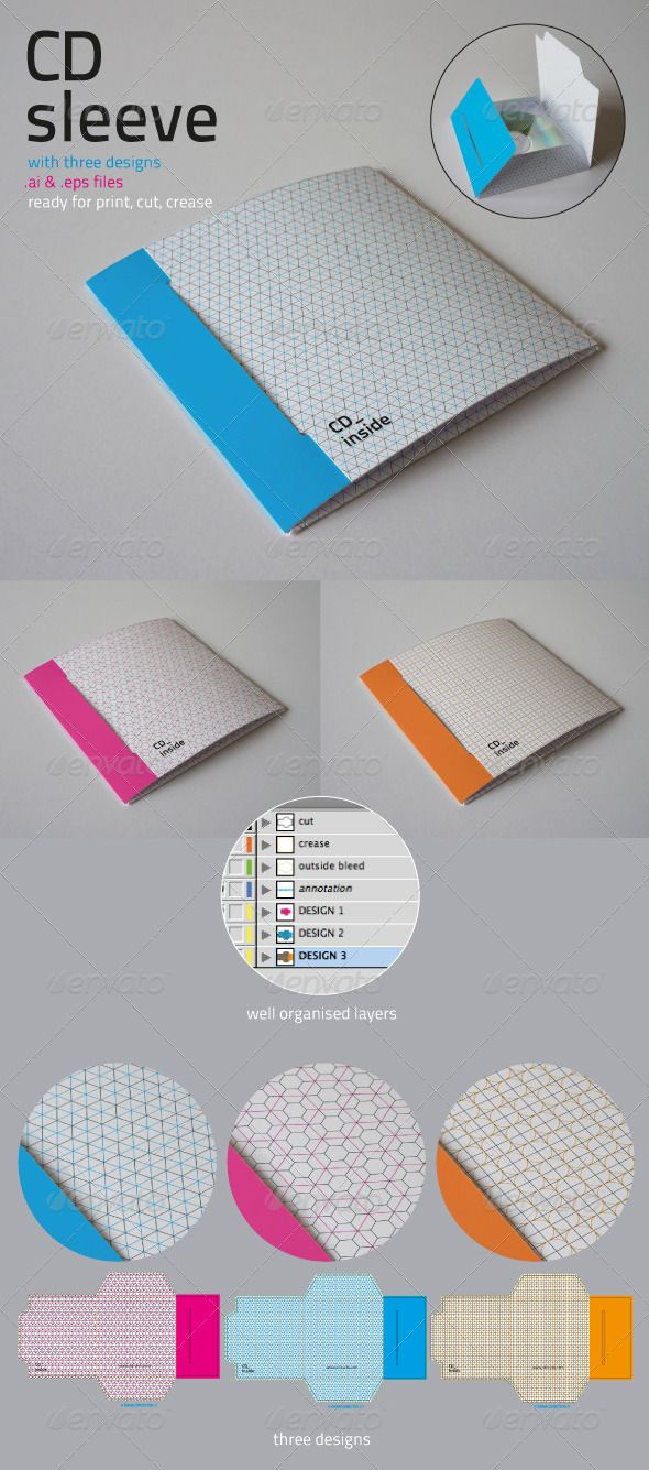 25 best ideas about Cd Sleeves – Compact Cd Envelope Template