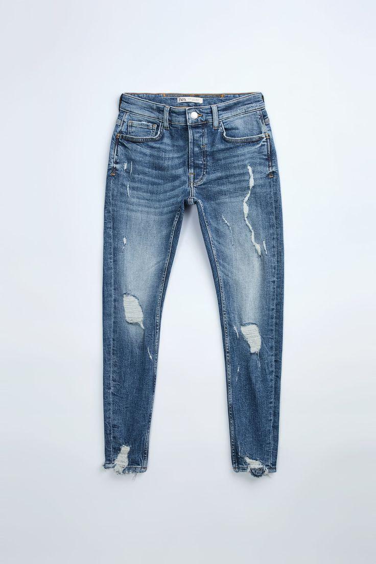 Jeans Cargo, Denim Jeans Men, Ripped Skinny Jeans, Skinny Fit, Barbie, Zara Man, Zara United States, Mens Fashion, Fitness