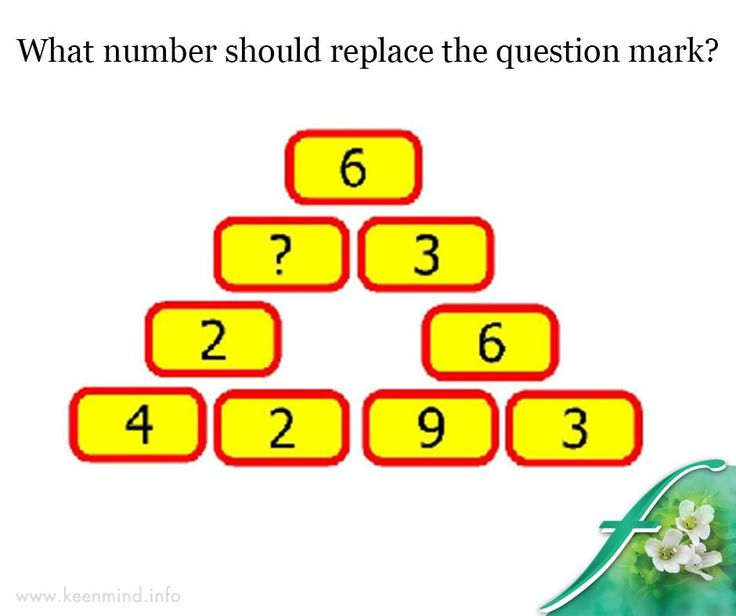 It's #TheWeekendBaby and time for a fun Friday #brainteaser. What number should replace the question mark? #Flordis #Keenmind