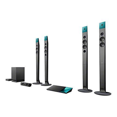Sony BDV-N9100W - Sistema de cine en casa con Blu-ray 3D y 4K, Negro
