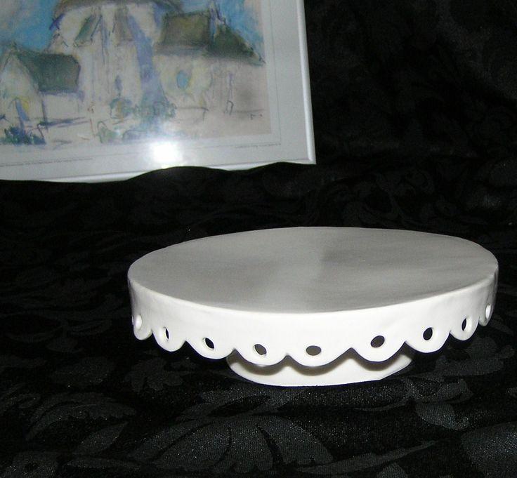 Kagefad/cake stand, lavet af porcelænsler på Bornholms højskole 2011 #KroezeDezign