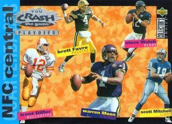 1995 Collector's Choice Update - Crash The Playoffs #CP5 - Scott Mitchell - Detroit Lions.