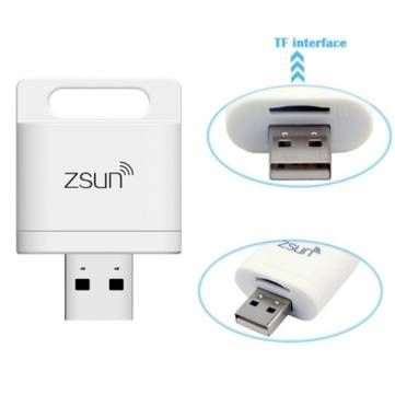 Zsun Wifi Card Reader Memory Extender Wireless Storage Flash Drive Sale-Banggood.com