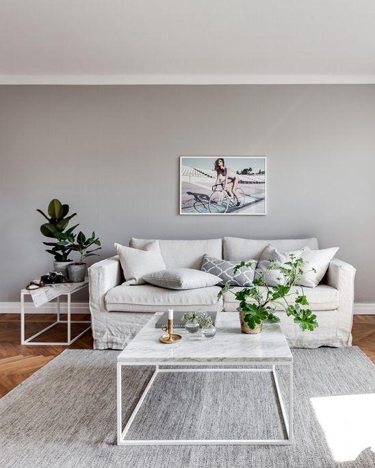 Grey home with a glass partition - via cocolapinedesign.com