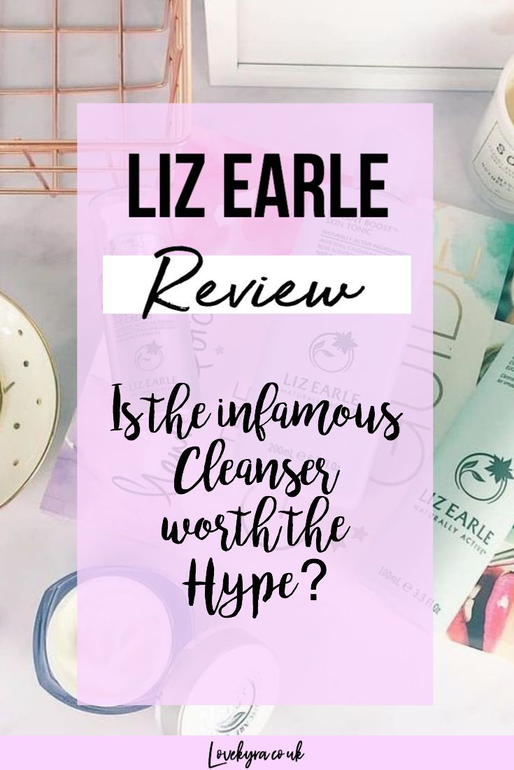 Liz Earle cleanser review- worth the hype