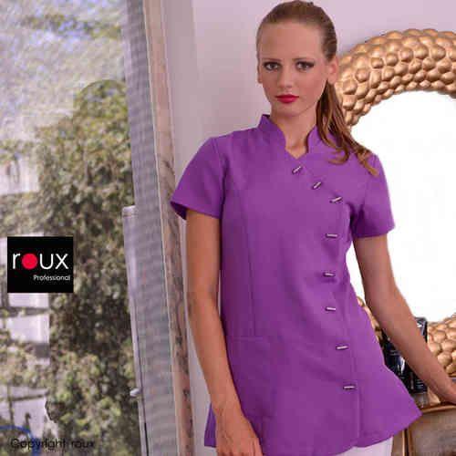 berufsbekleidung spa und wellness, kosmetikerein kasack, spa fashion, salon tunics