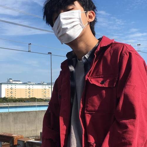 Image de boy, korean, and mask