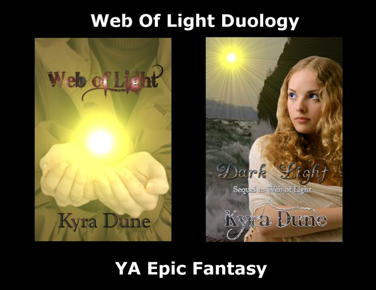 Web Of Light Duology by Kyra Dune