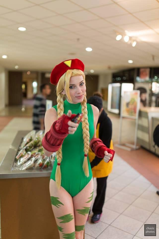 Megan Coffey - Starbuxx - Cammy Cosplay - Street Fighter ...