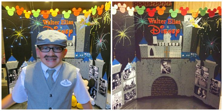 5th Grade Living Wax Museum - Walt Disney