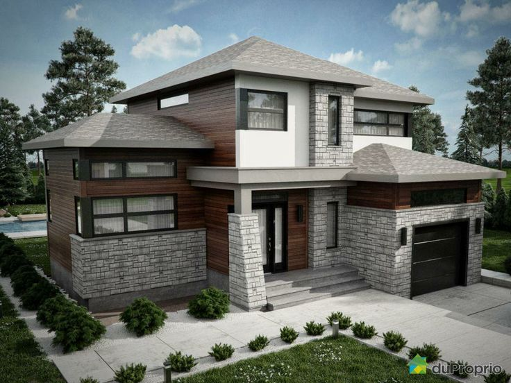 17 Best images about Construction maison on Pinterest House plans - Exemple De Facade De Maison