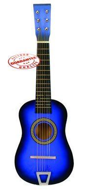 Products - Star Kids Acoustic Toy Guitar 23' Blue Color MG50-BL - Features 15 Frets by Star. $19.95. Save 50% Off!