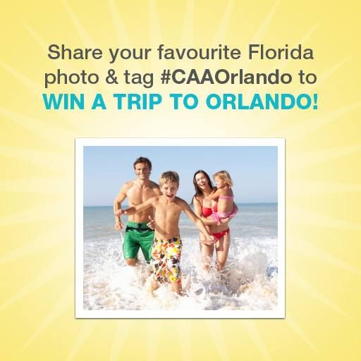 You could win a Trip for Four to Orlando with CAA!!  #CAAOrlando       http://www.mapsgirl.ca/2014/01/making-memories-caa-caaorlando.html #CANwin #giveaways