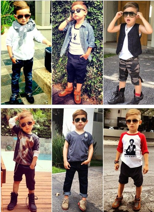 4 year-old Alonso Mateo's got the swag!