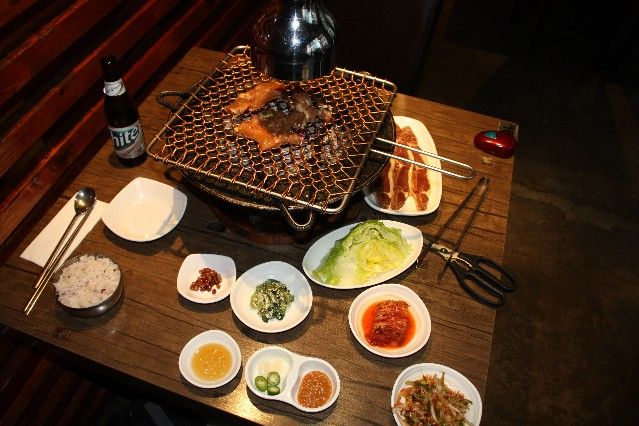 Best Korean BBQ in Melbourne. Hwaro, Melbourne CBD.