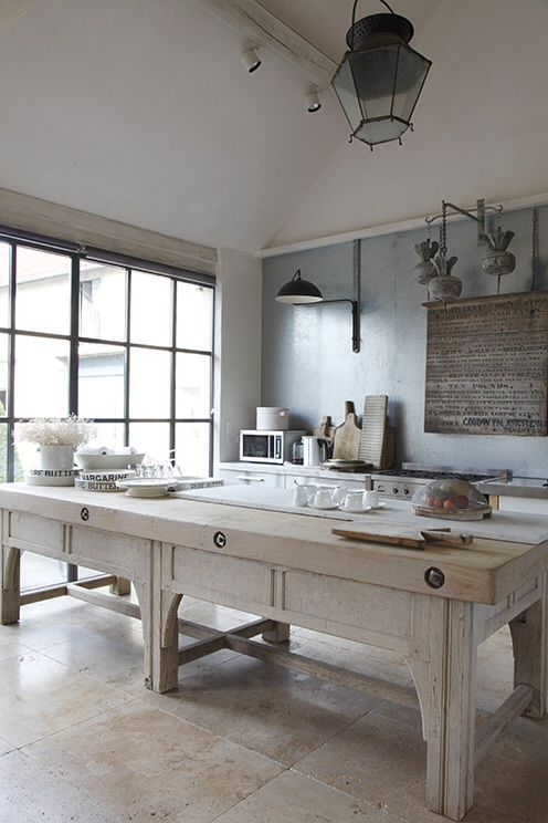 Amazing a French kitchen