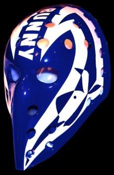 bunny larocque vintage goalie masks