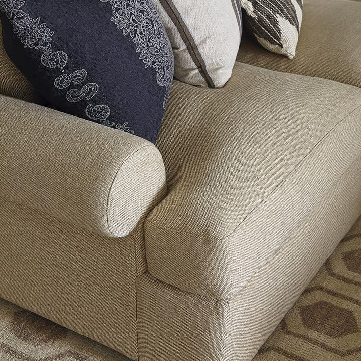 Casual Style Sutton U Shape Sectional Sofa By Bassett Furniture. A Casual  Style That