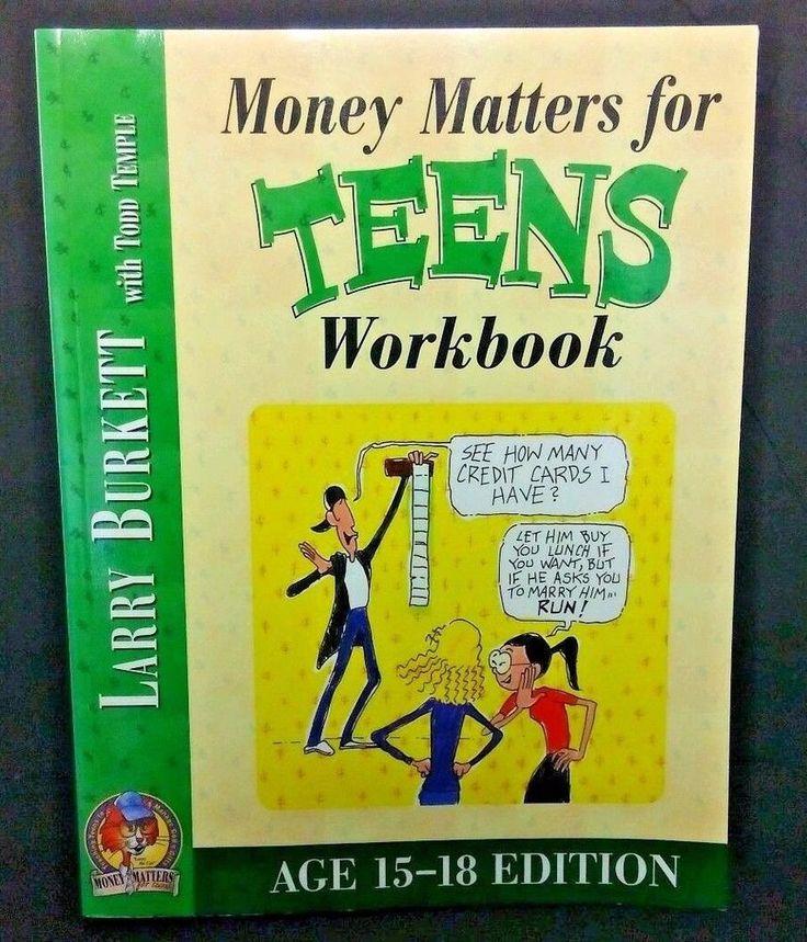 Money Matters Workbook for Teens (ages 15-18), Burkett, Larry #WorkbookStudyGuide