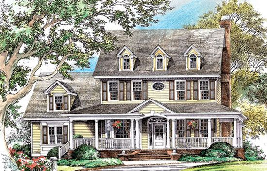 The Swansboro- This is the house that we custom modified to make our own floorplan.