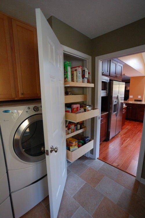 Shelf ideas for new pantry