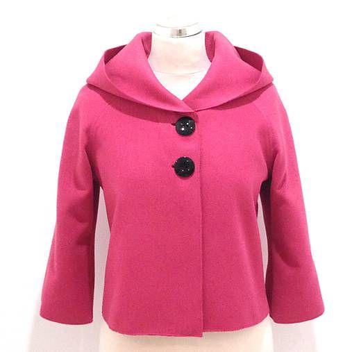 LuxuryCouture / Vlnený bolerkový kabátik
