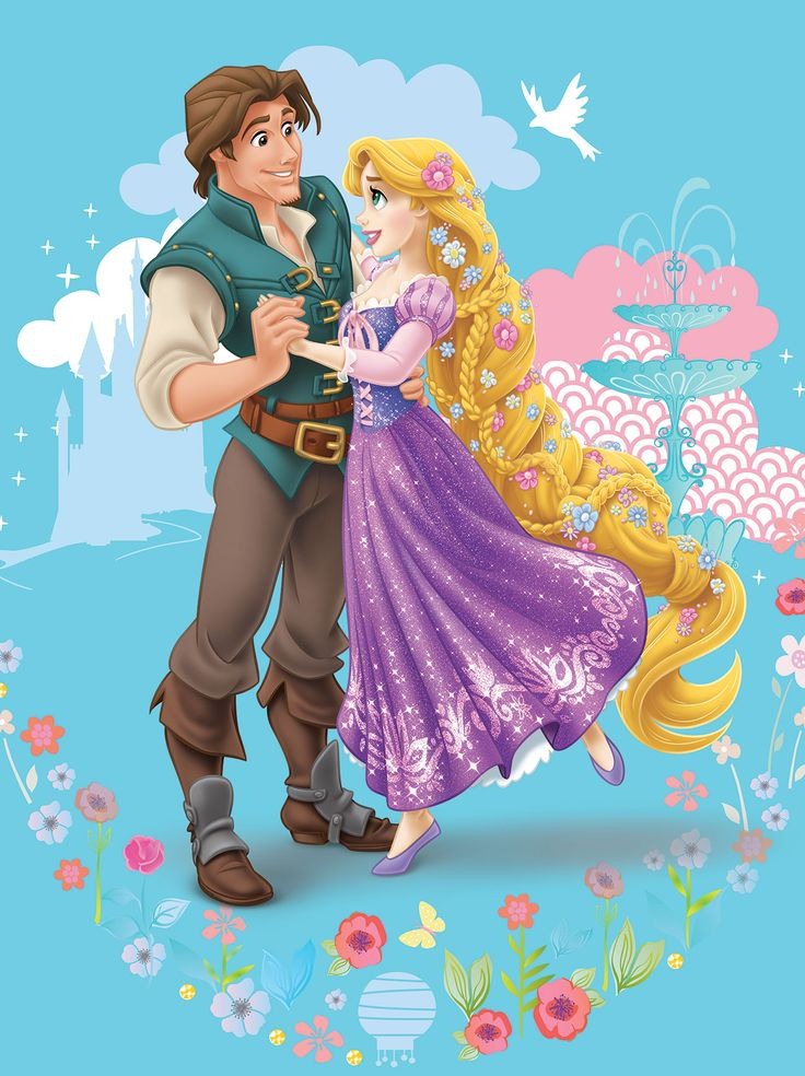 Картинки, прикольные картинки принцессы рапунцель и юджина