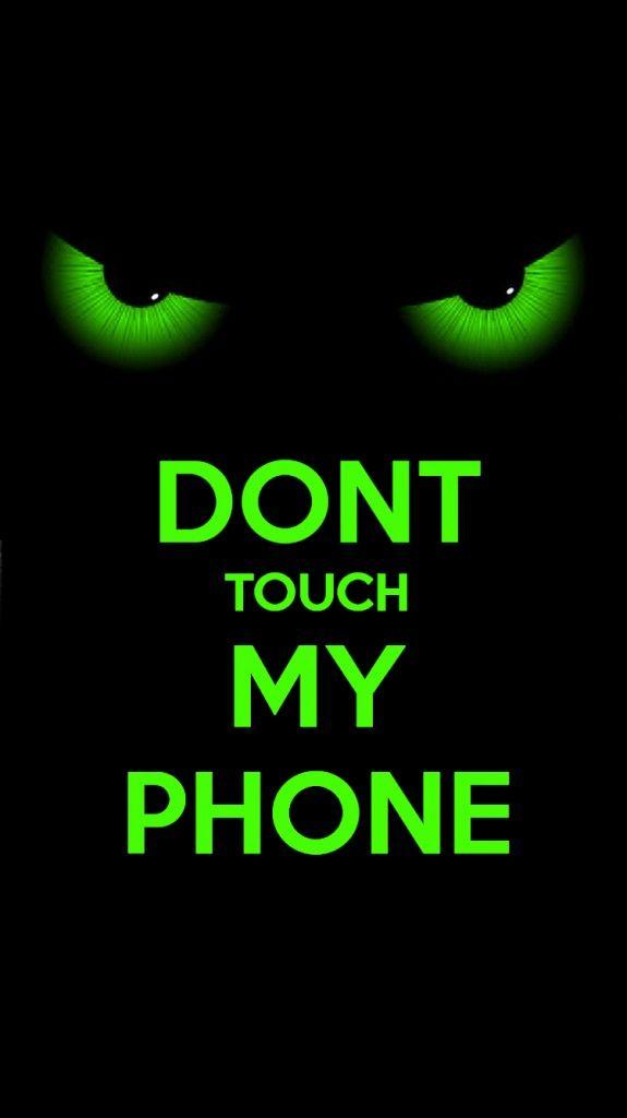 别碰我的手机wallpaper2