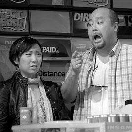 """""""Kim's Convenience"""" at Soulpepper's Young Centre for the Performing Arts."""